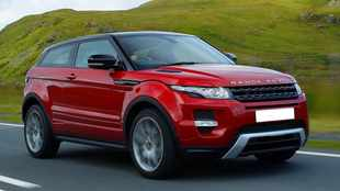 Evoque Coupé knows style and cruising