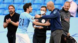 Man City end league campaign with 5-0 battering of Norwich