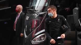 Liverpool arrive at Old Trafford amid fan protest ahead of Man United clash