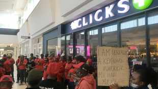 Letter: EFF protests was unnecessary, black people can punish Clicks by not buying from it