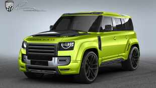 Has Lumma gone too far with this Land Rover Defender body kit?