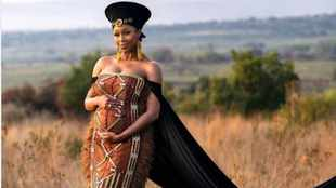 Minnie Dlamini-Jones hints at her baby's gender: The clue is in the detail