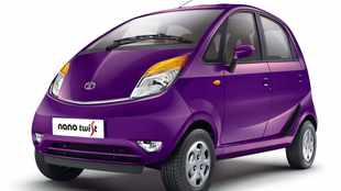 Tata unveils Nano with a 'Twist'
