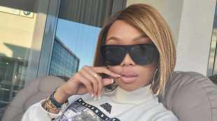 LOOK: Bonang Matheba is back at work