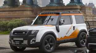Defender concept gets down and dirty