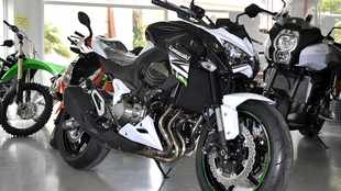 Kawa streetfighter gets more muscle