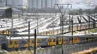 United National Transport Union members at Prasa issued strike certificate