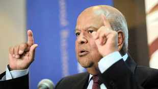 Who blew whistle on Pravin Gordhan's chief?