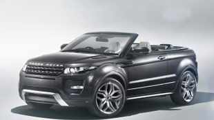 Range Rover Evoque drops its top