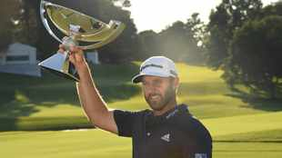 'Athletic' Dustin Johnson takes PGA Tour Player of the Year honours