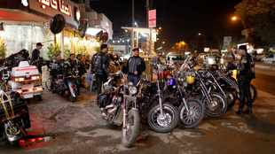 No politics allowed! Baghdad bikers hope to unite Iraq