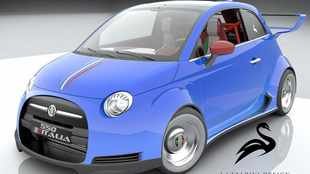 Could you handle a 405kW V8 Fiat 500?