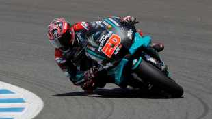 Quartararo wins Andalusian MotoGP, SA's Binder crashes out