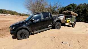 River beds, sand and rocks: We take the Ford Ranger Raptor on a 1200km adventure