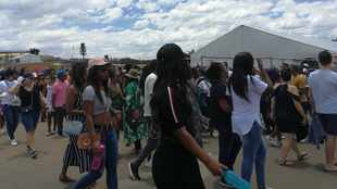 Fans arrive in droves to be entertained by #GlobalCitizenFestivalSA's stellar line-up