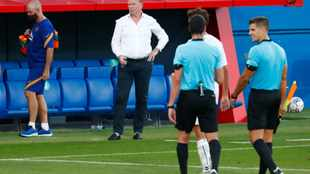 WATCH: Ronald Koeman hints at different approach from Barcelona after friendly win