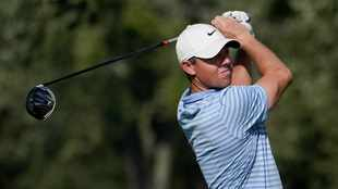 Rory McIlroy and Patrick Cantlay share the lead at challenging Olympia Fields