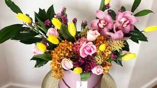 Get your home spring ready with DIY floral arrangements