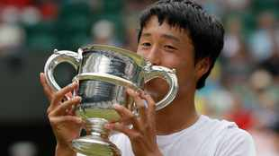 Mochizuki makes history for Japan with junior Wimbledon title