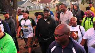Where to walk with Ramaphosa in Durban this weekend