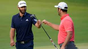 Dustin Johnson, Jon Rahm set for East Lake battle in playoff finale