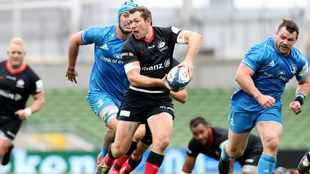 Alex Goode guides Saracens past favourites Leinster and into Champions Cup semis