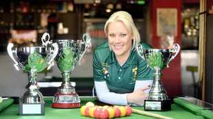 Amy-Claire King scoops three titles for SA, despite lack of support