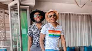 Somizi claps back at homophobic comment asking Mohale how they have sex