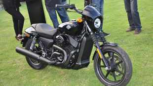 Harley 750 is all about Street cred
