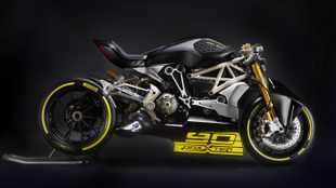 Ducati concept takes Diavel to the max