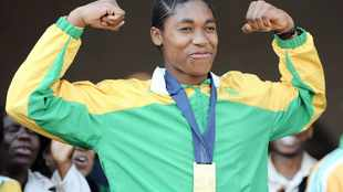 She is changing the world. Her name is Caster Semenya