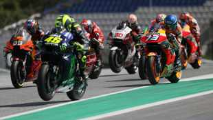 Valentino Rossi urges riders to control aggression after 'terrifying' crash