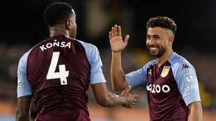 Villa thump Fulham to move into top four
