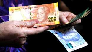 Rand retreats from a six-month high