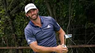 Dustin Johnson, Hideki Matsuyama share lead at unforgiving Olympia Fields