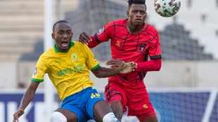 Peter Shalulile's goal puts Mamelodi Sundowns on the brink of league title