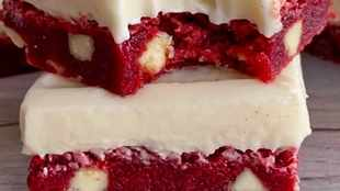 WATCH: How to make red velvet brownies that are out of this world
