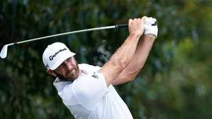 Dustin Johnson leads by one stroke at halfway point in Atlanta