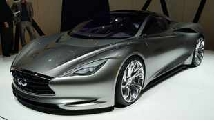 Infiniti electric supercar is for real