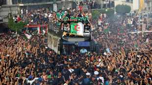 Algerians give national team hero's welcome after AFCON victory