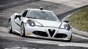 Alfa Romeo confirms 4C's 'Ring record