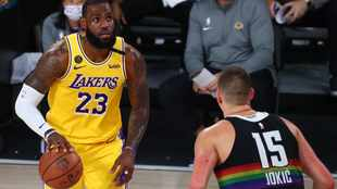 Lakers on the  after verge of NBA Finals after superior rebounding display