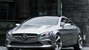 Merc's 4dr Style Coupe in pictures