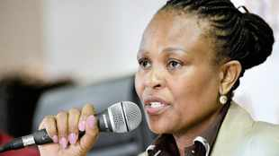 Rogue unit personal costs order against Mkhwebane an  'expression of Gordhan's outrage, inappropriate'
