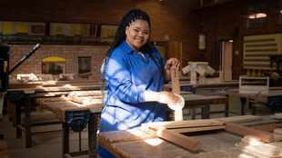WATCH: This woodwork teacher is shattering myths in the classroom