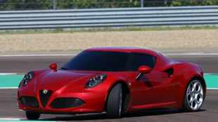 New pics of Alfa's 4C mini-supercar