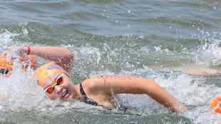 Olympic swimmer Michelle Weber targeting Midmar Mile glory