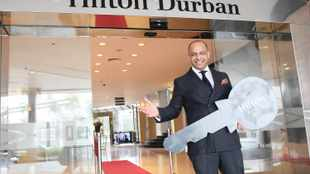 Durban's iconic Hilton Hotel is open for business
