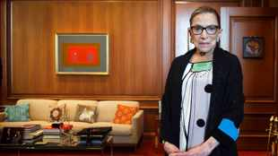 US Supreme Court Justice Ginsburg was a liberal dynamo who championed women's rights