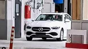 New Mercedes C-Class spied undisguised ahead of 2021 launch